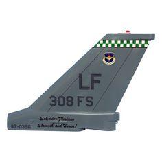 308 FS F-16C Tail Flash