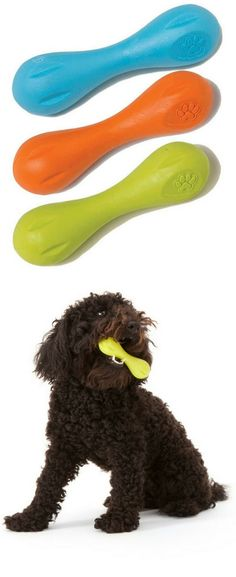 indestructible,tough, nontoxic, pliable dog toy The Hurley is a very playful toy that bounces, bends, chews, and floats - and is great for hurling. dog accessories #dogtoy #indestructibledogtoy