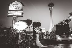 Romantic elopement locations in Las Vegas. Best kept secret is Chapel of the Flowers. Affordable and elegant wedding chapel.