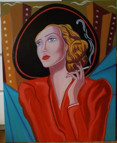 """JASMIN"" Óleo sobre lienzo Tamaño 65X81 cm. Precio 400 Euros."