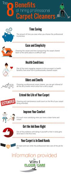 Regularly cleaning your carpet could increase the life of your carpet. Here are some reasons to hire a professional carpet cleaner are explained in this infographic.