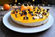 recette entremet léger à la clementine