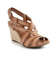 "Product: Clarks® ""Kyna Wit"" Comfort Sandal"