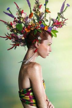 floral flowers plants fashion organic beauty natural nature 2019 Green Fashion www.c The post floral flowers plants fashion organic beauty natural nature 2019 appeared first on Floral Decor. Floral Fashion, Green Fashion, High Fashion, Photography Women, Fashion Photography, Photography Flowers, Style Vert, Floral Headdress, Image Mode