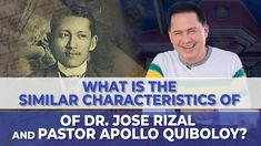 WHAT IS THE SIMILAR CHARACTERISTICS OF DR. JOSE RIZAL AND PASTOR APOLLO ... Investiture Ceremony, Jose Rizal, New Jerusalem, Great Leaders, Son Of God, Praise And Worship, Apollo, Channel, Spirituality