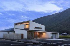 五日市の家 | WORKS WISE 岐阜の設計事務所 Style At Home, Good House, Exterior, Mansions, Architecture, House Styles, Home Decor, Rooms, Japan