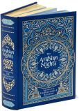 The Arabian Nights     These are the tales that saved the life of Shahrazad, whose husband, the king, executed each of his wives after a single night of marriage. Beginning an enchanting story each evening, Shahrazad always withheld the ending. A thousand and one nights later, her life was spared forever.