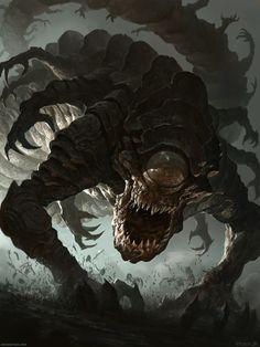 The Angriest Worm by DavidRapozaArt