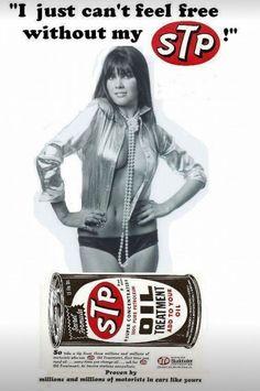 STP, just one of the many Studebaker divisions. Retro Advertising, Vintage Advertisements, Vintage Ads, Garage Signs, Garage Art, Car Girls, Pin Up Girls, Russ Mayer, Linda Vaughn
