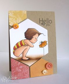 Love this card by Alice Wertz (and the digital stamp by A Day for Daisies!)
