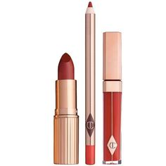 THE BOMBSHELL LIP KIT (9610 RSD) ❤ liked on Polyvore featuring beauty products and gift sets & kits