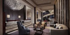 Four seasons hotel pudong - picture gallery отель four seasons. Design Hotel, Lobby Design, Plywood Furniture, Design Furniture, Hotel Lobby, Lobby Lounge, Lobby Bar, Four Seasons Hotel, Hotel Armani