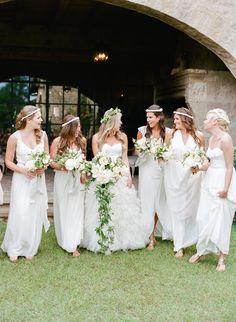 Houston Oaks Country Club Wedding - http://www.stylemepretty.com/2016/01/28/houston-oaks-country-club-wedding/