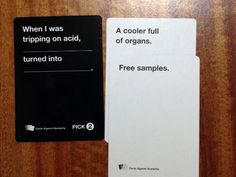 "Hilarious ""Cards Against Humanity"" Answers"
