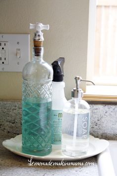 I need trays to contain all the stuff that goes near the sink(s ...