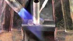 Brazing Steel To Br With Propane Torch Welding Aluminum Mig Knife