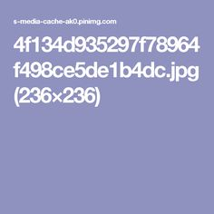 4f134d935297f78964f498ce5de1b4dc.jpg (236×236)