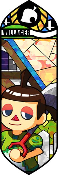 Smash Bros - Villager #8 by Quas-quas on deviantART