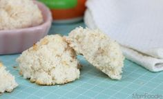 Skinny+Coconut+Macaroons+Recipe+(Sugar-free,+Gluten-free)++#Switch2Swerve
