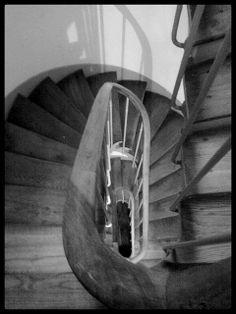 Escalera de caracol. Viaje a París. 16/08/2013.