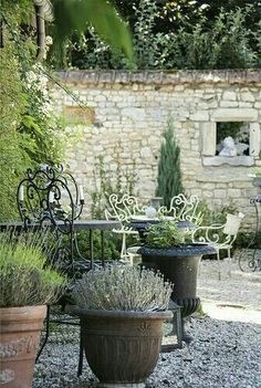 A walled garden...gorgeous!