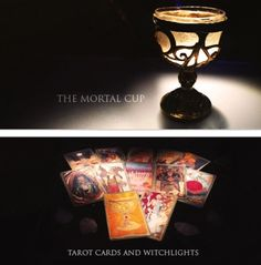 The Mortal Instruments: City of Bones ~ BEA (Book Expo America- 2013)  TMI Movie Party-  A few items found at the party:  The Mortal Cup Tarot Cards and Witchlights
