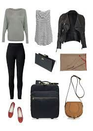 25 best airport style winter outfits to copy to your next flight Page 10 of 23 is part of Best Airport Style Winter Outfits To Copy To Your Next Flight - Long haul flight outfit Airport Style Travel Outfits, Travel Attire, Travel Style, Travel Wear, Air Travel, Travel Packing, Paris Packing, Travel Plane, Travel Capsule