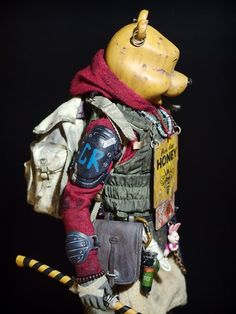 Character Poses, Character Concept, Character Design, Apocalypse World, Post Apocalypse, Post Apocalyptic Costume, Army Gears, Dark Disney, Honey Bear