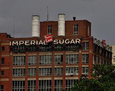 Old Imperial Sugar Factory, Sugar Land, Texas, May 2009 (photo by David Sledge)