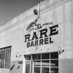 The Rare Barrel Signage