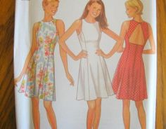 NEW LOOK SEWING PATTERN - 6502 - MISSES 8-18 SEMI FITTED - FLARED SKIRT
