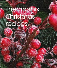 I'm really excited to be able to share with you a little project I've been working on with some of my blogging friends: a free e-book with 16 of our favourite Christmas themed recipes. And yes, I said afree e-book. This e-book contains sixteen recipes fromForking Foodie's Andrea, Jane from Why Is There Air,Kirrin from Kirrin's Kitchen,Lesley from Me and my Thermie and myself. These recipes...