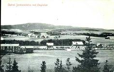 Nordland fylke Stjødal kommune  Skatval jernbanestation med omgivelser Utg A.I. stemplet 1914