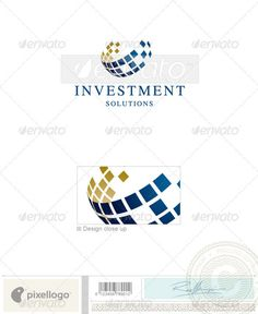 Business & Finance Logo - 2223 — Vector EPS #squares #cubes • Available here → https://graphicriver.net/item/business-finance-logo-2223/497245?ref=pxcr