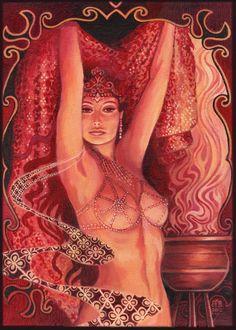 Hathor's Song Egyptian Goddess of Love Beauty and Music Fine Art Print Pagan Mythology Bohemian Gypsy Witch Goddess Art Egyptian Mythology, Egyptian Goddess, Egyptian Art, African Mythology, Goddess Of Love, Goddess Art, Divine Goddess, Beautiful Goddess, Hecate Goddess