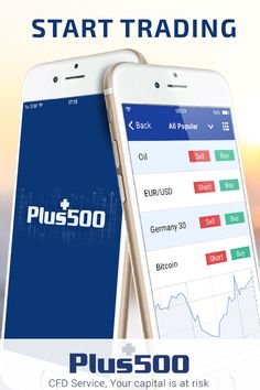 Buy & Sell stock CFDs online from your mobile with No Commissions! Trade anywhere & anytime with Plus500 app!