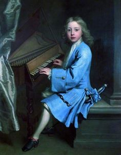 Garton Orme Seated At The Spinet