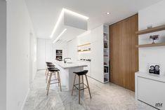 interieur Minimalist Design, Contemporary, Interior, Table, House, Inspiration, Furniture, Kitchen Islands, Home Decor