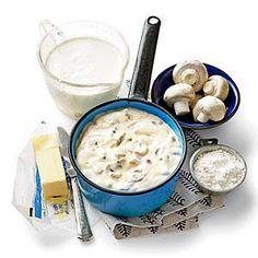 Homemade Cream of Mushroom Soup Recipe | MyRecipes.com