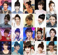 hair style love these curls messy bob korean hair style IU Hairstyles For School, Bun Hairstyles, Pretty Hairstyles, Iu Hair, Korean Hair, Korean Actresses, All About Fashion, Korean Beauty, Hair Designs