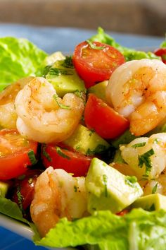 Avocado-Shrimp Salad Recipe