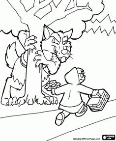 Little Red Riding Hood Coloring Page | Education.com ...