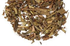 Hojicha - Green tea from Japan that is rendered brown by roasting Bancha (a summer crop tea, harvested after Sencha) tea leaves. An Adagio customer favorite, with a toasty nutty flavor and slightly mesquite note. Earthy and warm quality, soothing finish.