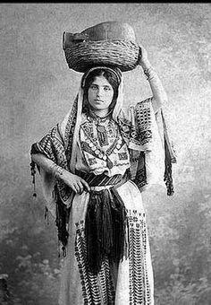 Palestinian Woman Early 1900 Palestine