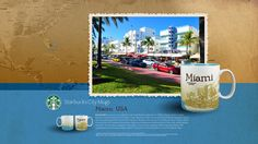Starbucks City Mug Miami Desktop Wallpaper