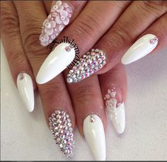 Beautiful nails/nail art/long nails