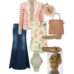 Modest vintage by jenngrissom on Polyvore featuring MaxMara, MANGO, Geox, Gregory Sylvia and vintage