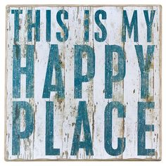 Add rustic appeal to your entryway or kitchen with this distressed wood wall decor, showcasing a motivational typographic motif.  Pr...