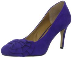 @Samantha Sue What do you think of these Nine West Women's Eyesparkle Pump, Dark Purple Suede?