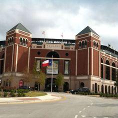 Ballpark at Arlington- Home of the Texas Rangers!